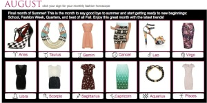 August Fashionscopes