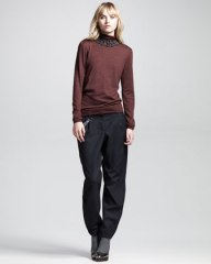 Brunello Cucinelli turtleneck, chino pants
