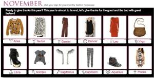 November Fashionscopes 2013