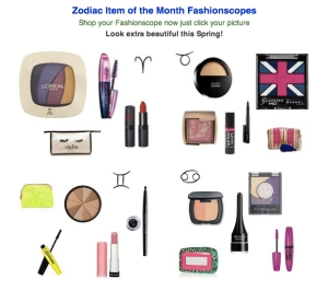 makeup horoscopes