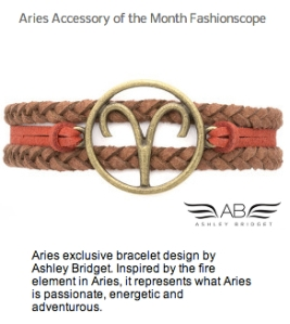 Aries Accessory month Fashionscope