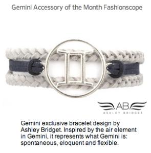 Gemini Accessory Month Fashionscope