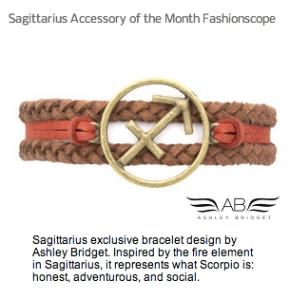 Sagittarius Accessory Month Fashionscope
