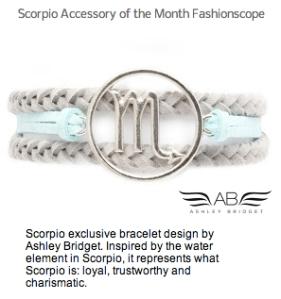 Scorpio Accessory Month Fashionscope