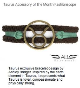 Taurus Accessory Month Fashionscope