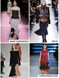 Bouncy Hem Skirts
