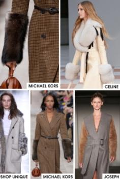 FW 1516 - Furry Cuff Coats