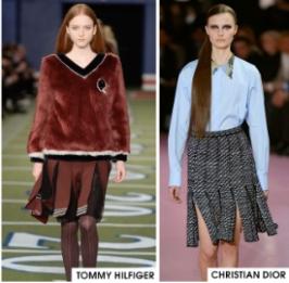 Gladiator Split Skirts/Dresses